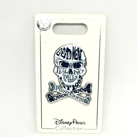 Pirates of the Caribbean Skull Pin