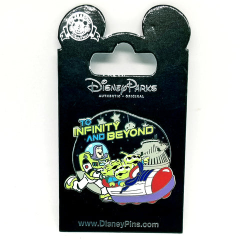 To Infinity and Beyond Pin