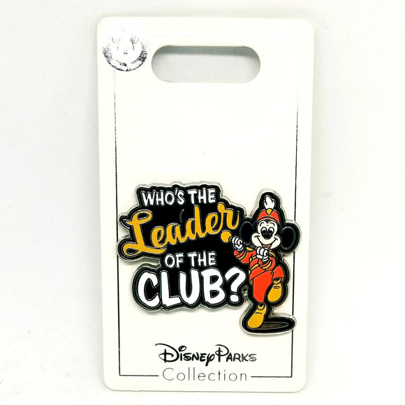 Who's The Leader?. Mickey Mouse Club Pin