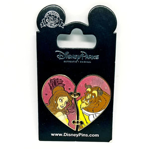 Belle & Beast Heart Pin