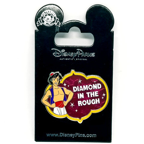 Diamond in the Rough Aladdin Pin