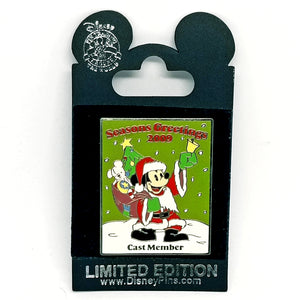 Seasons Greetings 2009 Cast Member Pin