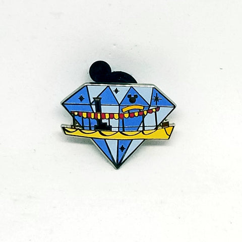 Diamond Attractions  - Jungle Cruise Pin