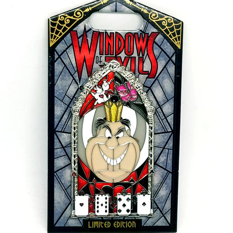 Windows of Evil - Queen of Hearts Pin