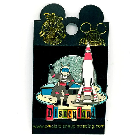 Retro Collection - Rocket to the Moon Pin