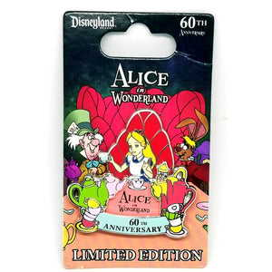 Alice in Wonderland 60th Anniversary Pin