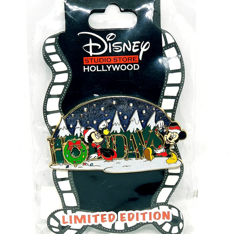DSSH - Holidays Mickey and Minnie Pin