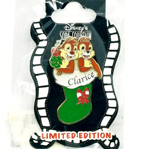 DSF - Christmas Stocking - Chip and Dale Pin