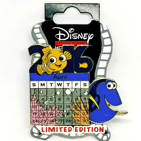 DSSH - April Calendar - Finding Nemo Pin