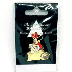 JDS - Walt Disney 100th Year - Works of Art Minnie Mouse Pin