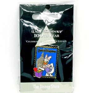 JDS - Walt Disney 100th Year - United Kingdom Daisy Pin