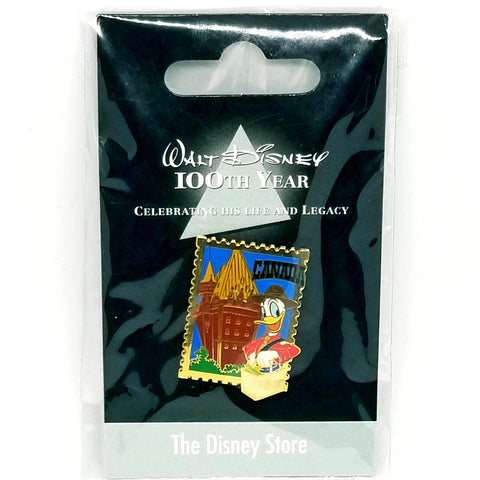 JDS - Walt Disney 100th Year - Canada Donald Pin