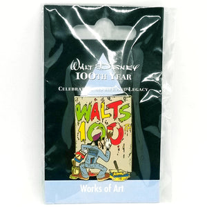JDS - Walt Disney 100th Year - Works of Art Goofy Pin