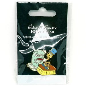 JDS - Walt DIsney 100th Year - Works of Art Jiminy Cricket Pin