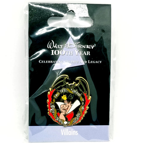 JDS - Walt Disney 100th Year - Queen of Hearts Pin