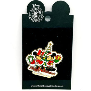 Happy Holidays WDW - Mickey & Minnie Pin