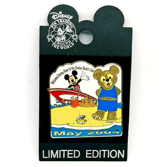 Mickey and Duffy May 2004 Pin