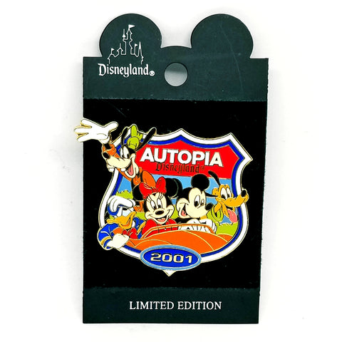 Autopia 2001 - Mickey & Friends Pin