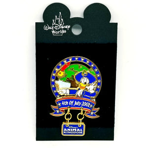 4th of July 2001 - Animal Kingdom - Donald Duck Pin