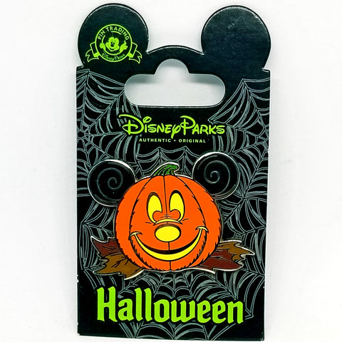 Mickey Pumpkin Pin