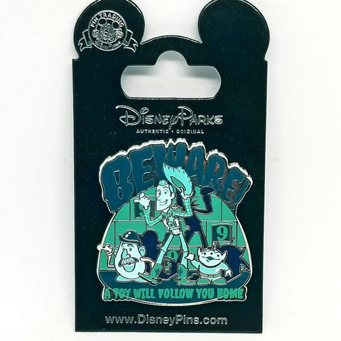 """Beware"" Toy Story Pin"