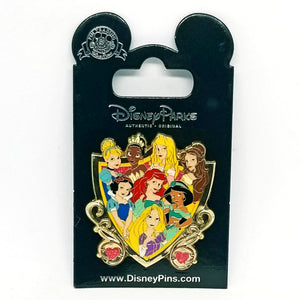 Princess Shield Pin