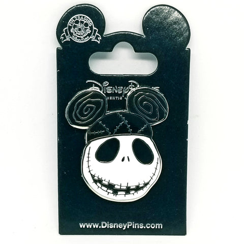 Jack Skellington with Mickey Ears Pin
