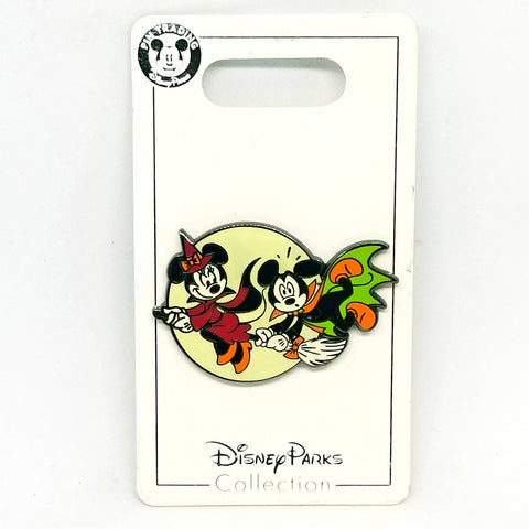 Mickey and Minnie Halloween Pin