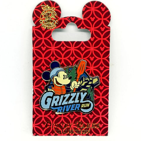 Grizzly River Run Mickey Pin