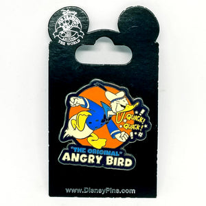 """The Original Angry Bird"" Donald Pin"