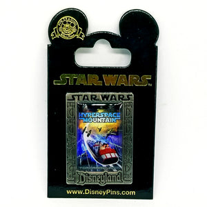 Hyperspace Mountain Pin