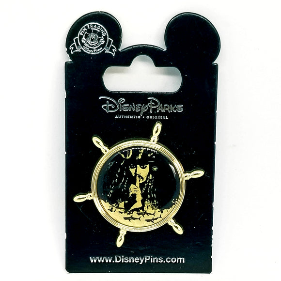 Jack Sparrow Ship Wheel Pin