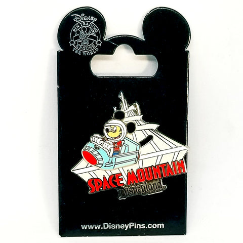 Space Mountain Mickey Mouse Pin