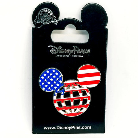 USA Mickey Icon Pin