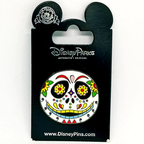 Day of the Dead Jack Skellington Head Pin
