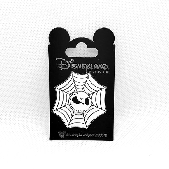 Jack Skellington Spiderweb Pin