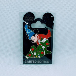 WDI - Sorcerer Mickey Christmas Tree Puzzle Pin