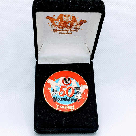 50 Years of Mouseketeers Pin