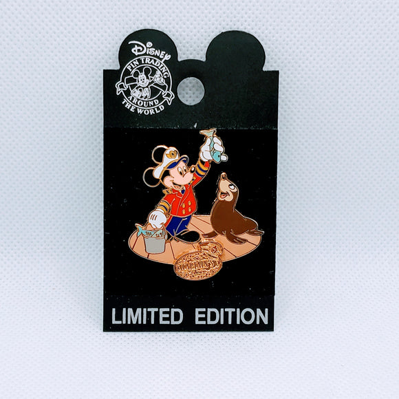 Artist Choice Mickey with Seal Pin