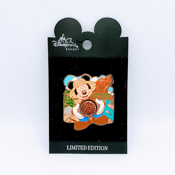 Gold Rush Mickey Mouse Pin