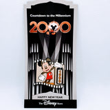 Countdown To Millenium - Mickey New Year '99-'00 Pin