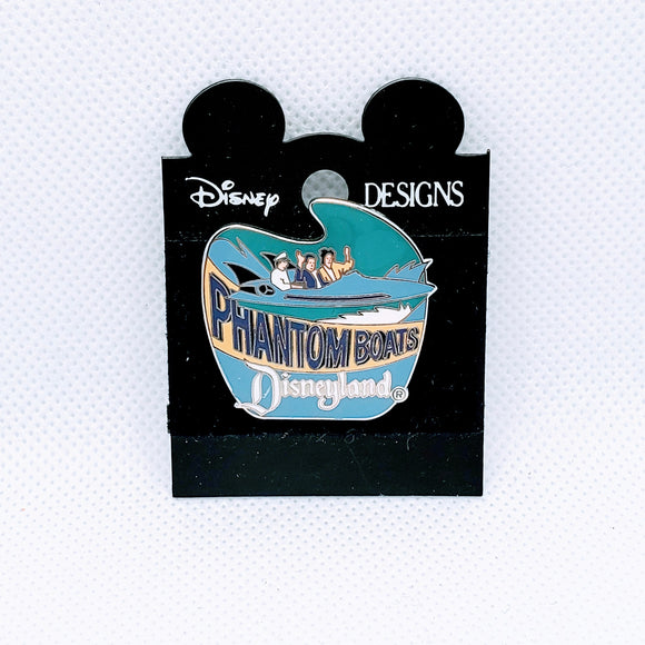 Phantom Boats Pin