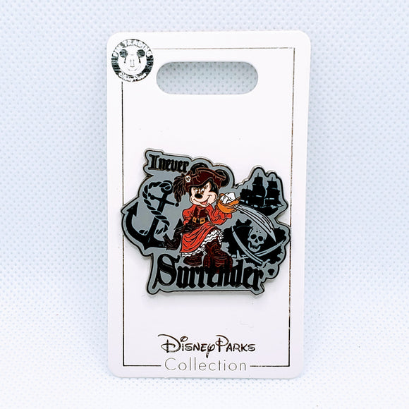 I Never Surrender - Minnie Mouse Pin