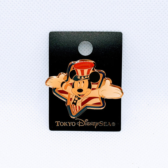 USA Mickey Mouse Star Pin