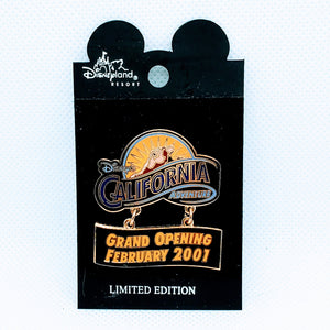 California Adventure Grand Opening Pin