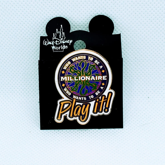 Who Wants To Be A Millionaire - Play It Pin