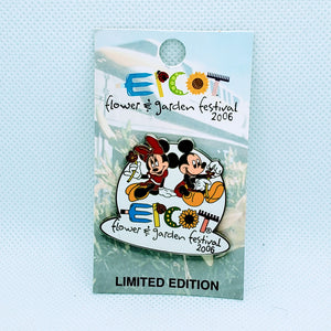 Epcot Flower and Garden Festival - Mickey and Minnie Pin