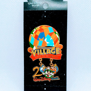 Millenium Village Gifts to the World Pin