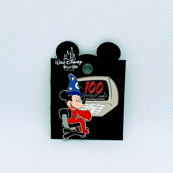 100 Years of Magic Sorcerer Mickey Pin
