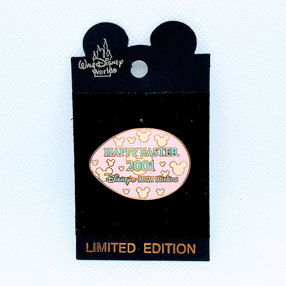 Happy Easter 2001 - Pink Egg Pin